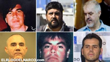 FOTOS: Cuándo saldrán de prisión el Doctor, la Barbie y otros narcos peligrosos