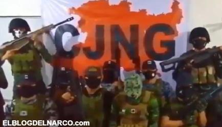 Fuerzas Especiales del Mencho del CJNG envía este audio para el pueblo Michoacano