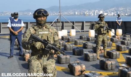 La guerra contra el Narco en altamar, una batalla poco conocida de la Marina