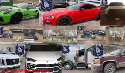 Narcorancho es reventado en Ojinaga y recuperan vehículos robados (Lamborghini y Porsche)