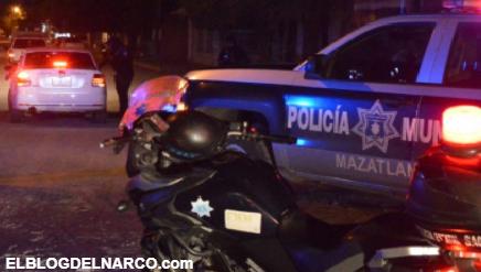 Policías que fueron atacados por Sicarios, son llevados al MP por la muerte de una mujer