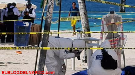 Ejecutan a 2 personas en zona hotelera de Cancún; Los Sicarios huyeron en moto acuática