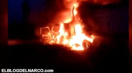 El Mencho y el CJNG tienen en llamas zona que le pelean a Cárteles Unidos (VIDEO)