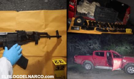 """FOTOS Golpe a narcos del Cártel de Sinaloa en zona fronteriza que quieren """"conquistar"""""""