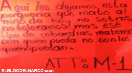 """La Venganza del """"M1"""" por pareja ejecutada con su bebé en Guanajuato"""