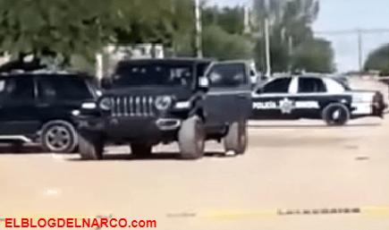 Rafaguean auto con familia dentro, hay una menor herida de bala en la colonia Progreso