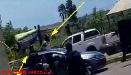 VIDEOS Sicarios de Los Chapitos se quisieron sentir bien salsas gritando y ordenando a los Policías cuando se toparon de frente y así fueron abatidos