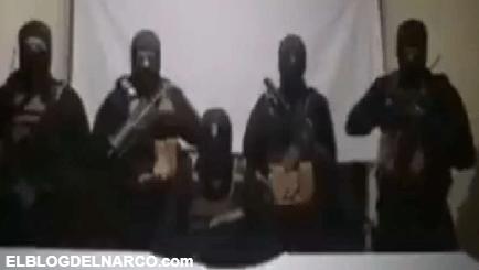 Video donde sicarios mandan mensaje en Chihuahua para el Gobernador Javier Corral