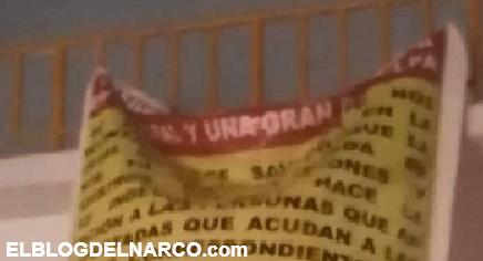 Aparecen Narcomantas contra Los Tlacos, el Cartel que levanto y descuartizo a 20 Sicarios de Guerreros Unidos