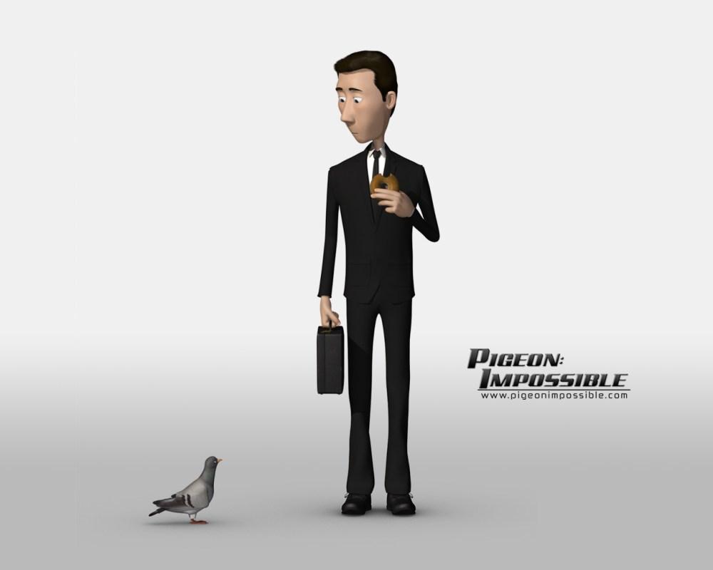 Corto de animación 3D: Pigeon: Impossible (1/3)