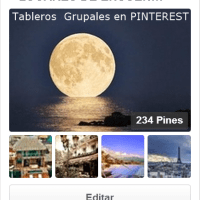 ¿Conoces los Tableros Grupales en Pinterest? Te invito a probarlos.
