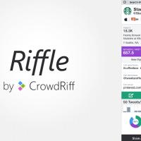 'Riffle' herramienta gratuita para analizar cuentas de twitter