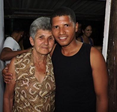 Mi abuela y yo en su cumple