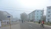 Neblina inunda en Nueva Gerona004