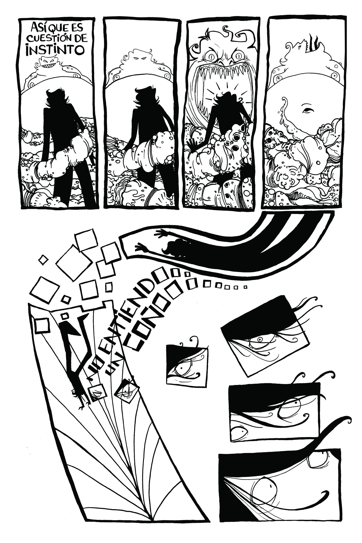 MACHERA de Comics Mitos Urbanos por Rafael Marquina