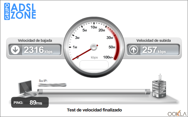Cómo saber la velocidad de tu conexión a Internet (4/5)