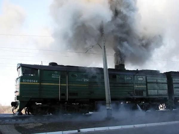 contaminacion transporte