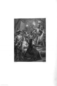 """Don Quijote de la ManchaCalcografía de Estebanillo que adorna El Quijote publicado por Tomás Gorchs en 1863. Procedencia: """"Banco de imágenes del Quijote www.qbi2005.com"""""""