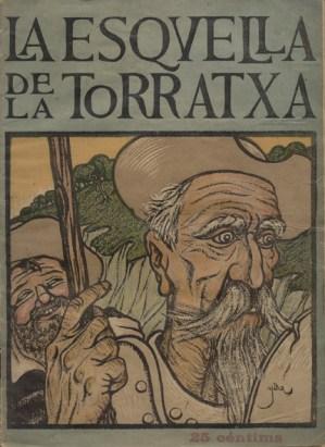 """Argitalpenak sortatan La esqvella de la Torratxa, 1373 zk. (1905eko apirilaren 28a) Iturria: """"Kixoteren irudi-bankua www.qbi2005.com"""""""