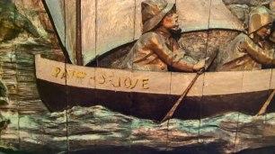 Detalle del retablo. Popa