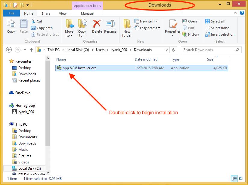 System Download Folder