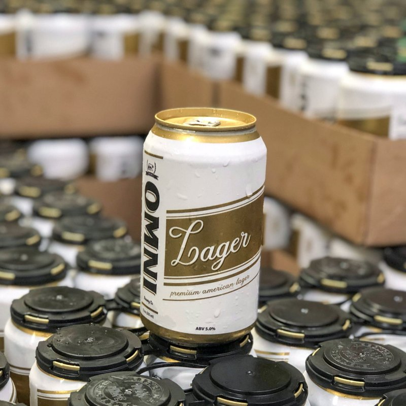 OMNI Lager - Product Shot