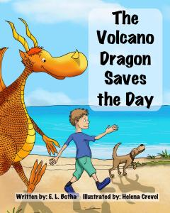 Book Cover: The Volcano Dragon Saves the Day