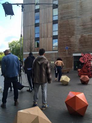 Moving Southwark shoot at Bermondsey Square