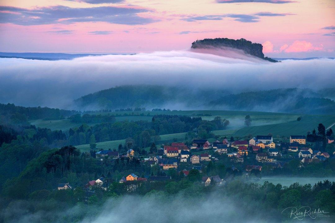 Land unter hinter Porschdorf