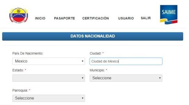 Solicitud-de-pasaporte-venezolano-en-Mexico