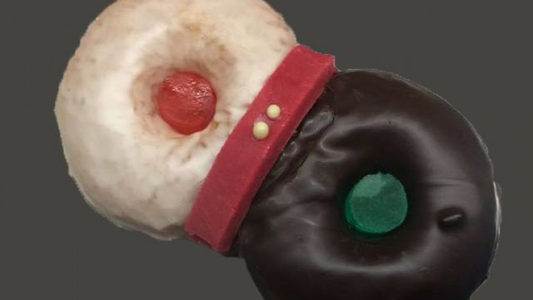 donuts navidad