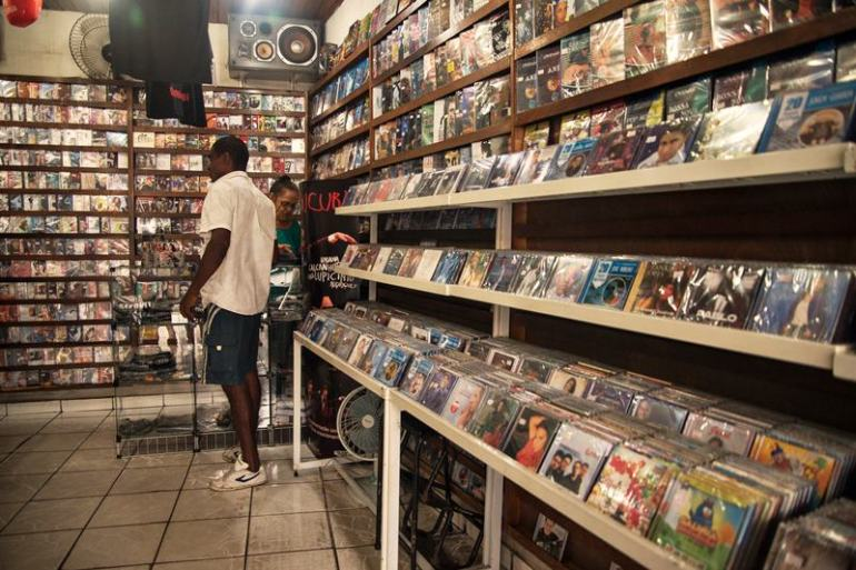 lojas de CDs
