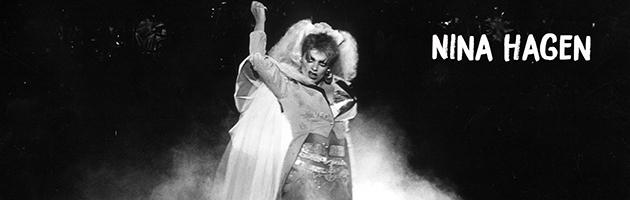 Na foto: Nina Hagen. Foto: Arquivo A Tarde Data: 18/09/1985 Shows internacionais Salvador