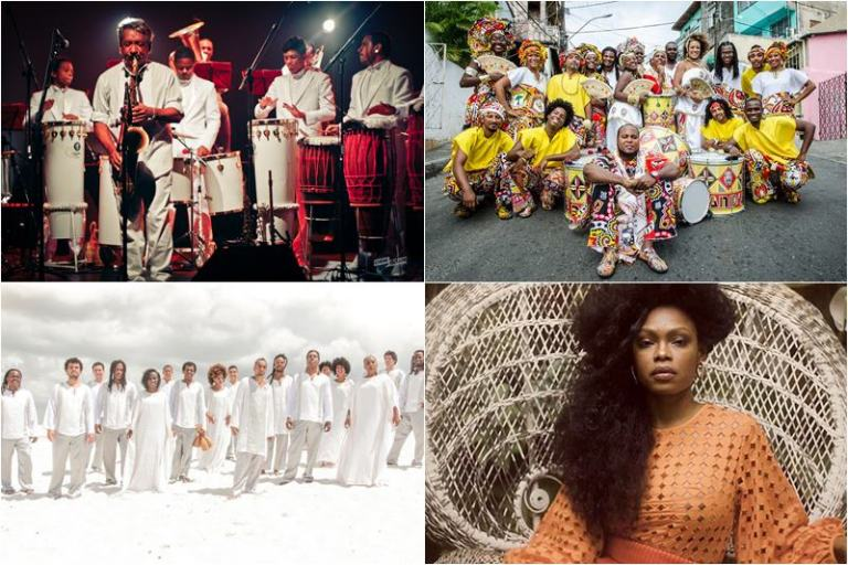 Edital Petrobras Baianos Festival Rumpilezz, Ilê Aiyê, Orquestra Afrosinfônica Xenia França