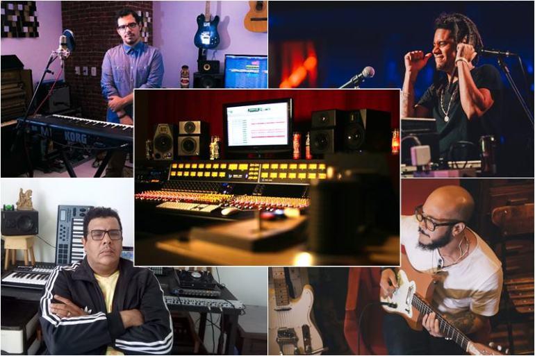 Produção Distância Música Bahia