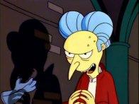 """Sr. Burns en """"Los Simpson"""""""