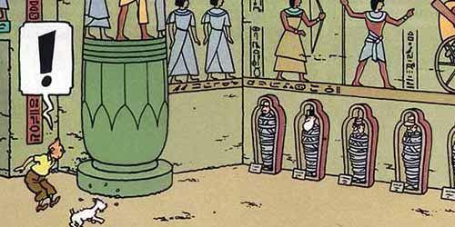 Egiptomanía en la cultura de los siglos XX/XXI