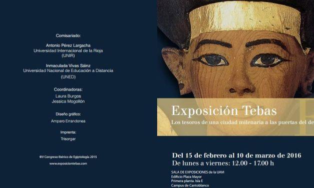 Exposición Tebas: Los tesoros de una ciudad a las puertas del desierto