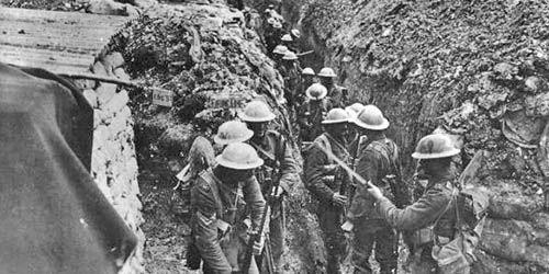 La vida en las trincheras en la I Guerra Mundial