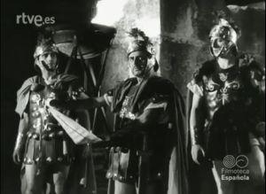 Escena de Numancia- Actores