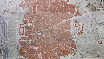 Madrid en tiempos de la Ilustración a través de un plano topográfico