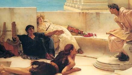 Las damas ante Homero