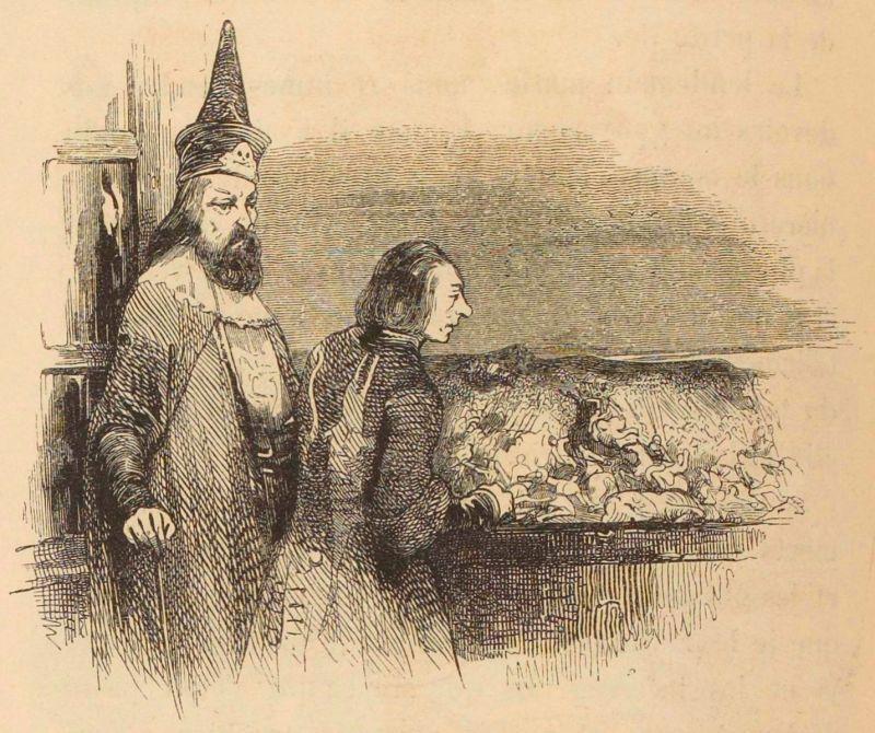 Gulliver y el rey de Glubbdubdrib