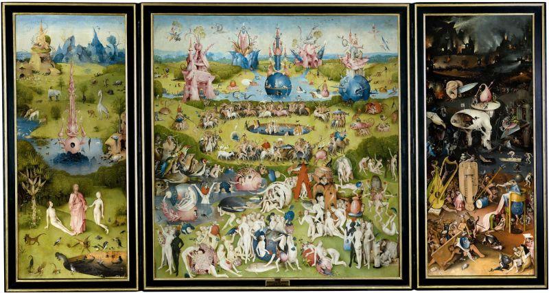 El el Jardín de las Delicias podemos ver la concepción que tenía El Bosco sobre el infierno