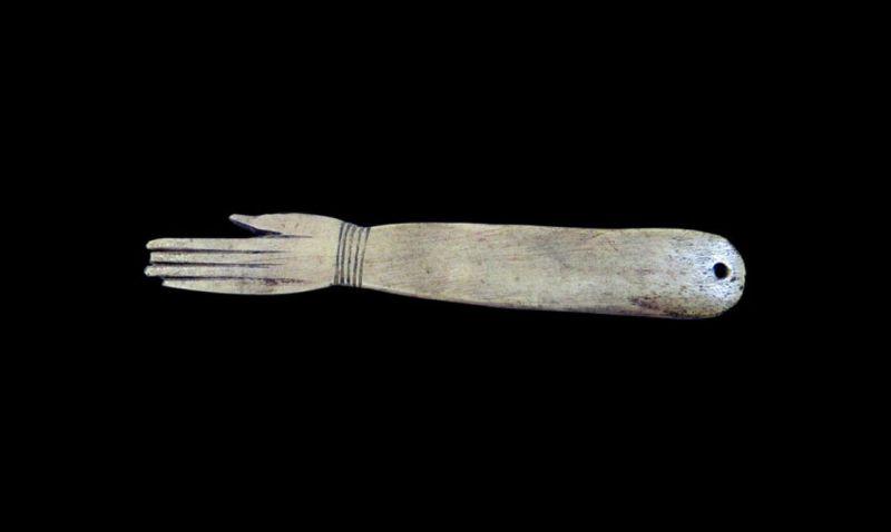 Castañuela egipcia del Museo Arqueológico Nacional