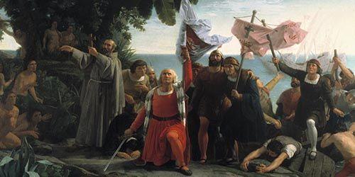 La imagen refleja bien la manipulación política y mediática de la Historia