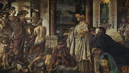 El banquete en la Antigua Grecia ¡Música y vino!