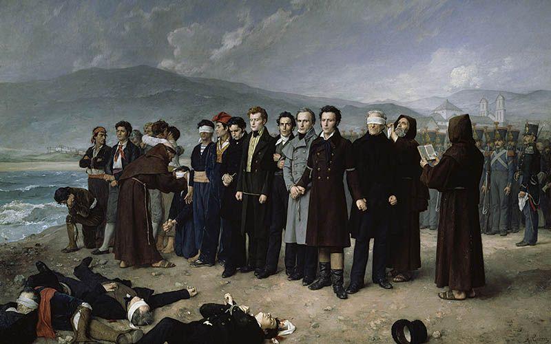 El Fusilamiento de Torrijos y la libertad