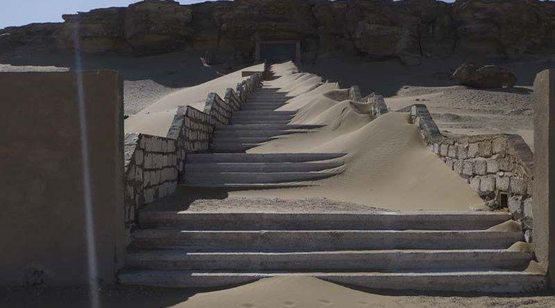 Imagen destacada del programa dedicado a las tumbas perdidas del Antiguo Egipto