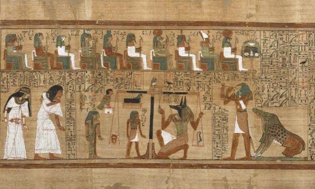 El libro de los muertos y el papiro de Ani
